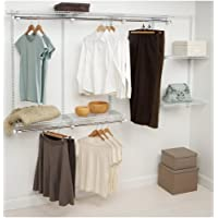 Configuraciones de Rubbermaid Kits de armarios, 4-8 pies, blanco (FG3G5902WHT)