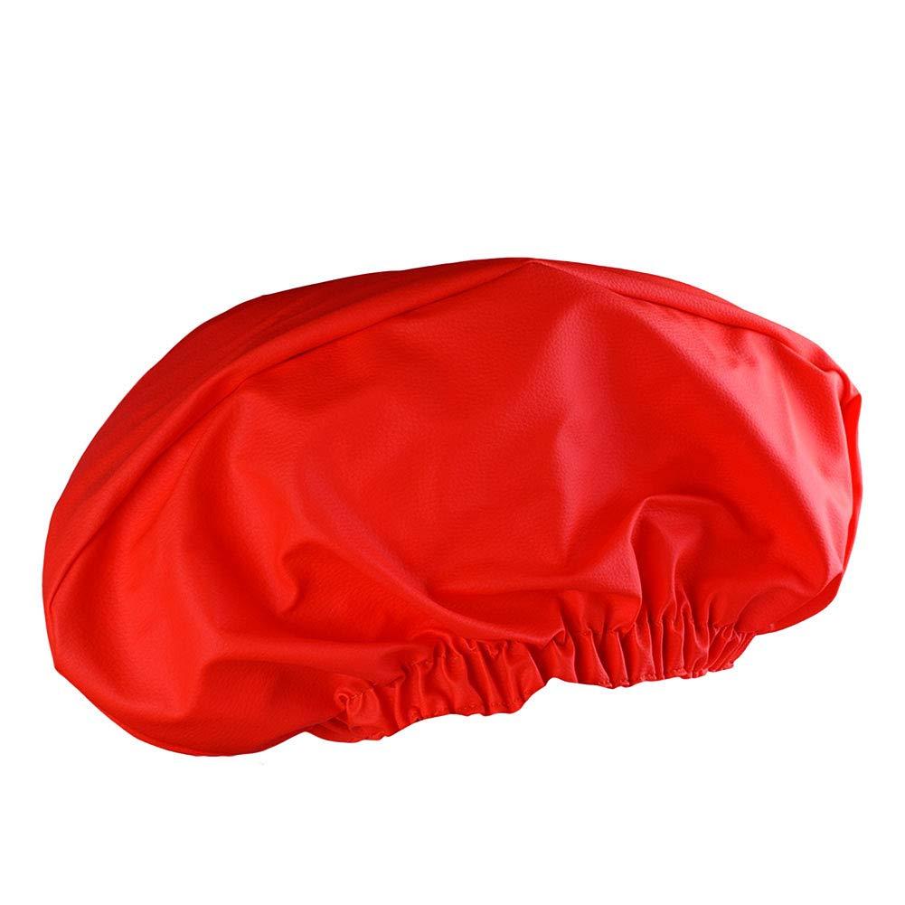 Rungao Cuir PU Treuil Coque étanche protégé contre la poussière UV Mildew-resistant Treuil Housse de protection étanche souple Treuil Housse anti-poussière pilote restauration W/cousues Bande élastique