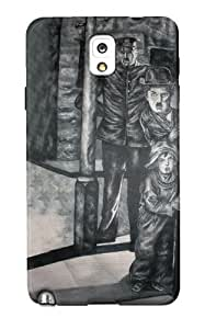 DailyObjects Charlot And The Tramp Case For Samsung Galaxy Note 3 N9000 Back Cover Black