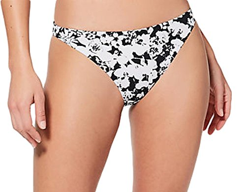 Lululemon Uncharted Waters Efflorescent White and Black Swim ()
