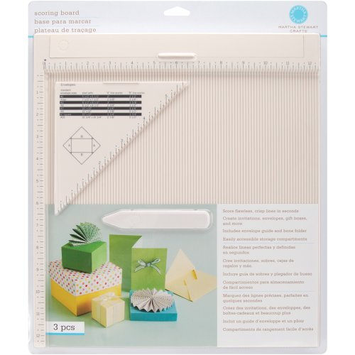 Embossing Trim - Martha Stewart Crafts Scoring Board and Envelope Tool
