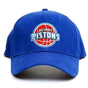 NBA Detroit Pistons LED Light-Up Logo Adjustable Hat