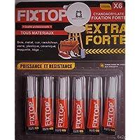 lot de 6 tubes de colle Extra fortes qualité professionnelle OFFRE SPECIAL sélection ROS