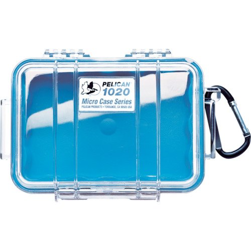 Waterproof Case | Pelican 1020 Micro Case - for GoPro, camera, and more - Micro Blue Case Pelican
