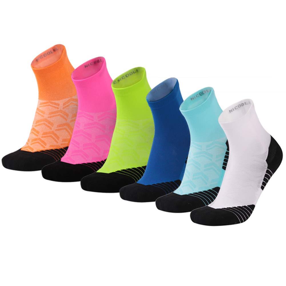 NIcool SOCKSHOSIERY レディース US サイズ: One Size カラー: マルチカラー B07BXH83RT 01/6 Pairs/Multicolor  01/6 Pairs/Multicolor