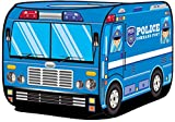 Kiddie Play Police Car Pop Up Kids Play Tent for Boys and Girls Indoor Outdoor Toy