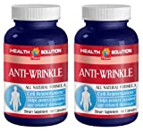 Product review for Collagen powder - ANTI-WRINKLE ANTI-AGING COMPLEX - Anti-aging diet (2 Bottles 120 Capsules)