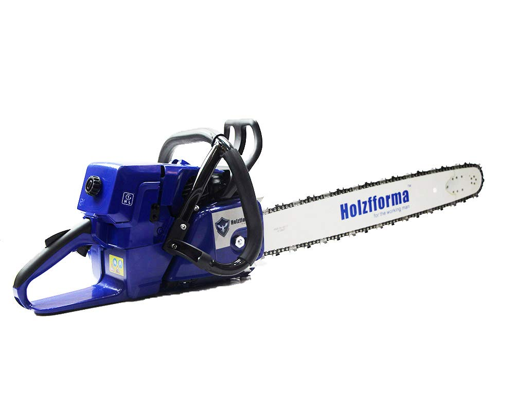 Farmertec Holzfforma 71cc Blue Thunder G444 Gasoline Chain Saw Power Head Without Guide Bar and Chain One Year Warranty All Parts are Compatible with MS440 044 Chainsaw