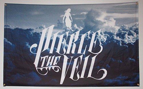 Pierce the Veil Banner Flag Cloudy Sky Band Logo