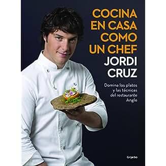 Cocina en casa como un chef book jacket