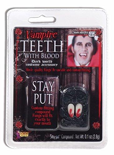 Forum Novelties 64393 Vampire Fangs with