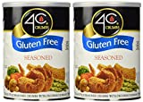 4C Gluten Free Crumbs Seasoned, 12 Ounce (Pack Of 2)