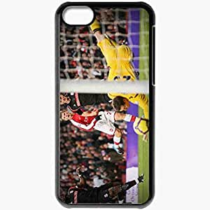 Personalized iPhone 5C Cell phone Case/Cover Skin Arshavin Arsenal Football Black