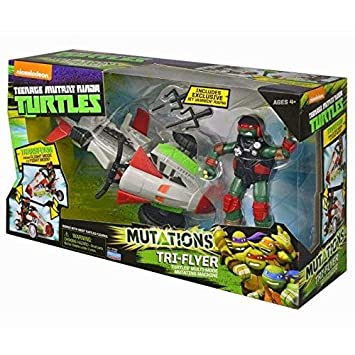 Tortugas Ninja - TMNT Mutation vehículo Quad Rotor con ...