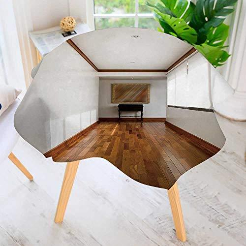 PRUNUS Spring & Summber Tablecloth-Interior Design Series Classic Empty Hallway for Outdoor or Indoor Use, BBQs 43.5