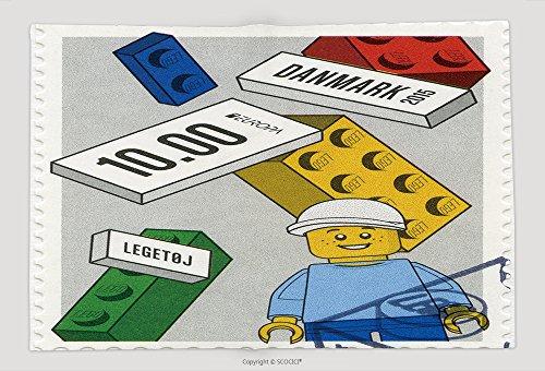 Supersoft Fleece Throw Blanket Denmark Circa A Stamp Printed In Denmark Shows Lego Blocks Europa Circa (Circa Camo)