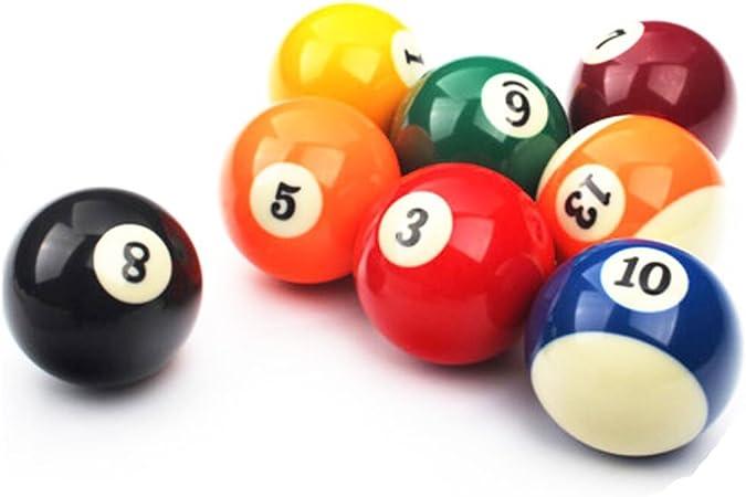 Black Temptation 1 PCS Cue Sport Snooker USA Pool Bolas de Billar 57.2 mm / 2-1/4 - NO.2: Amazon.es: Deportes y aire libre