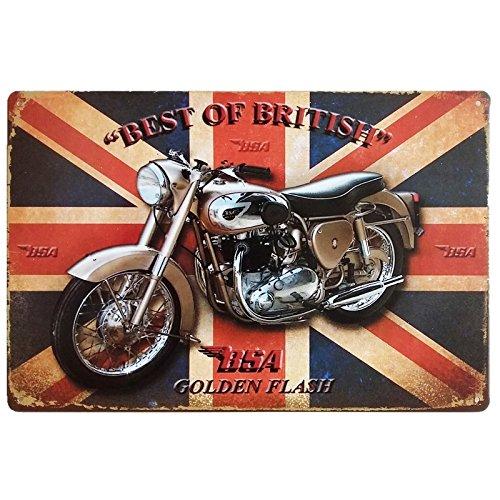 Motorcycle Biker Metal Sign - 3