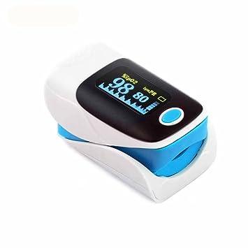 Portátil Oximetro De Pulso De Dedo SpO2 para Familia PulsiOxímetro: Amazon.es: Salud y cuidado personal