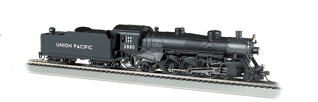 Bachmann Industries Trains Usra Light Pacific 4-6-2 Dcc Sound Value Equipped Union Pacific 2880 Ho Scale Steam Locomotive by Bachmann Trains (Image #1)