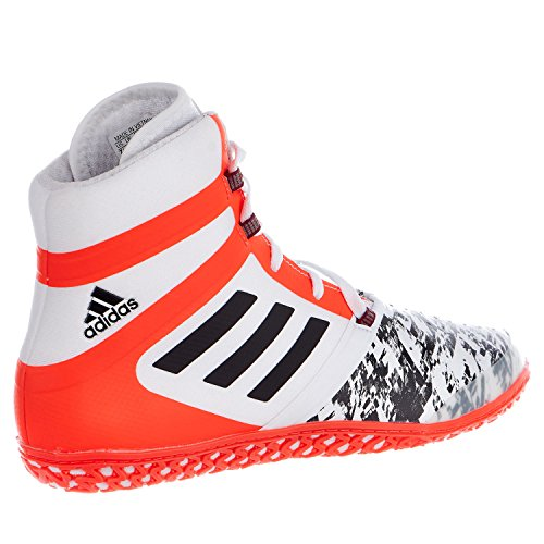 Adidas Impact Wrestling zapato White/Back/Solar Red