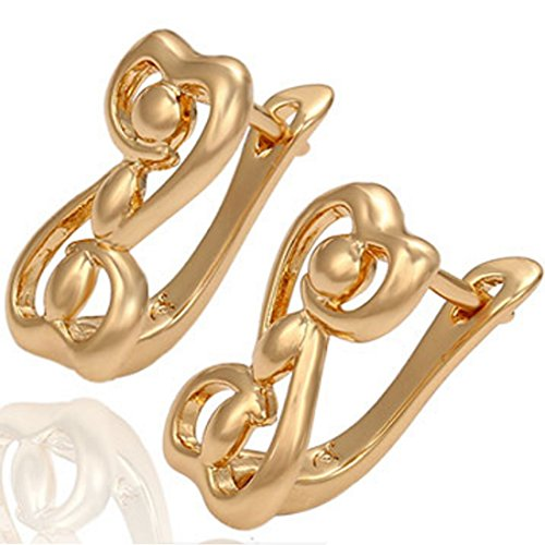 juvel-jewelry-fashion-18k-gold-plated-animal-shape-earring-hoop