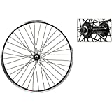 Wheel Master Front Bicycle Wheel 24 x 1.75 36H, Alloy, Quick Release, Black