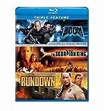 Dwayne Johnson Triple Feature (The Scorpion King / The Rundown / Doom) [Blu-ray] by Universal Studios by Andrzej Bartkowiak, Chuck Russell Peter Berg