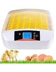 ESTINL Egg hatcher, Automatic Digital Hatching, Fully Automatic Egg Incubator, for Chicken Duck Goose Egg Hatcher (56 Egg)