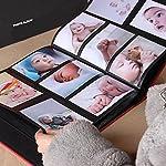 Nizzco Leather Frame Cover Photo Album 600 Pockets Hold 4x6 Photos(Gem blue)