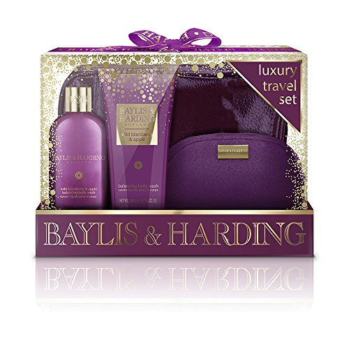 - Baylis & Harding Wild Blackberry & Apple Luxury Travel Set