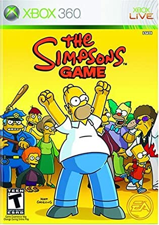 Amazon Com The Simpsons Game Artist Not Provided Video Games