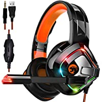 STOGA Professional Gaming Headset with 50MM Comfy Earmuffs