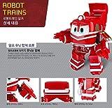 [Robot Train] Transformer Train Car Robot (ALF DX) Korea Animation (Best Gifts for Children)