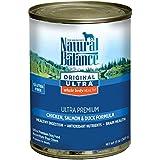 ナチュラルバランス ホールボディヘルス ドッグ缶 (全年齢対応) 369g