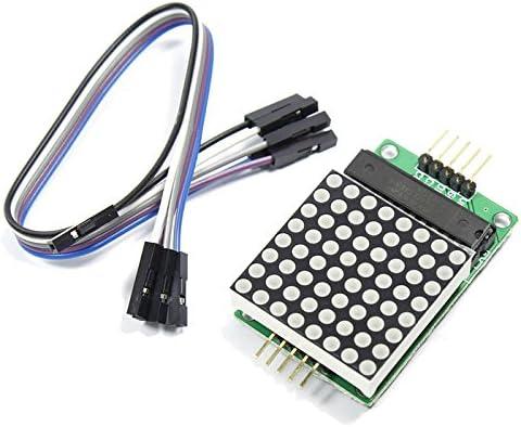 GuoQiang Zhou DIY MAX7219 8 8-Punktmatrixmodul Mikrocontroller-Modul for for