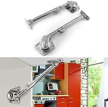 2 bisagras hidráulicas para armarios de cocina con sistema de elevación neumática: Amazon.es: Bricolaje y herramientas