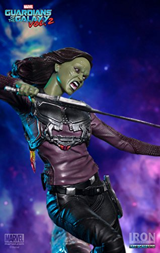 "51pZ%2BMCdzUL Gamora ""Guardians of the Galaxy Vol. 2"" Iron Studios Battle Diorama Series 1/10"