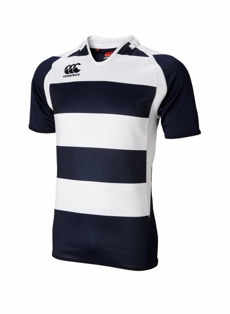 Canterbury Hooped Challenge Jersey 210 Brands Inc. B975775-Small-Black/White-P