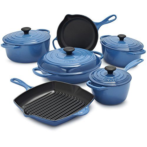 Le Creuset Signature Marseille 10-Piece Set MS14SLT10-5H , 10-Piece