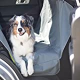 Lola and Max Dog Car Seat Cover with Side Flaps - Fits Most Cars - Trucks and SUVs - Protect Resale Value of Your Car!