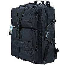 HUKOER 35/45L Military Backpack - Outdoor Army Tactical Backpack Waterproof Bag Rucksacks for Hiking Camping Trekking Hunting Bag