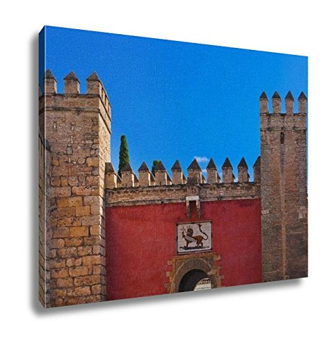 Ashley Canvas, Gates To Real Alcazar Gardens In Seville Spain, Home Decoration Office, Ready to Hang, 20x25, AG6395509 by Ashley Canvas