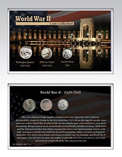 World War II Coin Collection Card