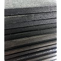 1/2 Thick x 18 Wide x 48 Long Rubber Mat for Non-Penetrating Roof Sled Mounts