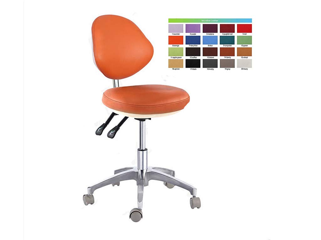 SoHome Micro Fiber Leather Dental Ergonomic Dentist Chair Doctor's Chair Height Adjustment by SoHome