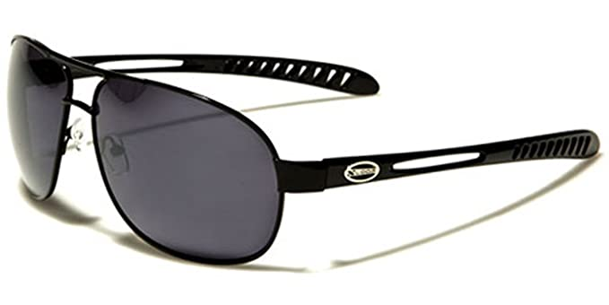 4651e31c18 Image Unavailable. Image not available for. Color  X-Loop Men s Metal Sport  Aviator Sunglasses