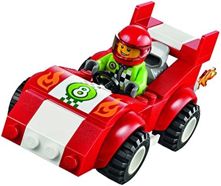 LEGO Juniors - 10673 - Jeu De Construction - Grande Boîte Du Rallye Automobile