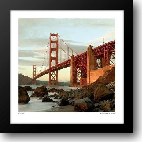Golden Gate Bridge, San Francisco 20x20 Framed Art - Francisco San Galleria