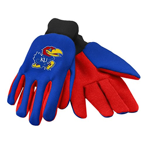 Kansas 2015 Utility Glove - Colored Palm College Teams Merchandise